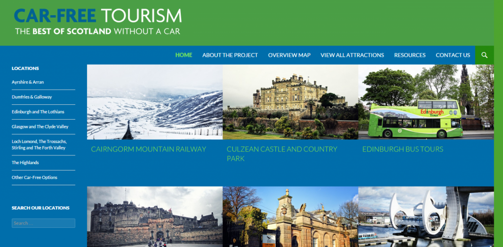 Car Free Tourism: Visit Scotland's most popular tourism attractions without a car