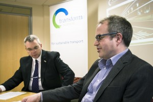 Phil Matthews and Alex Johnstone at Transform Platform for the Conservatives, 4 April 2016